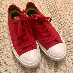 Converse low tops with Nike lunarlon insoles